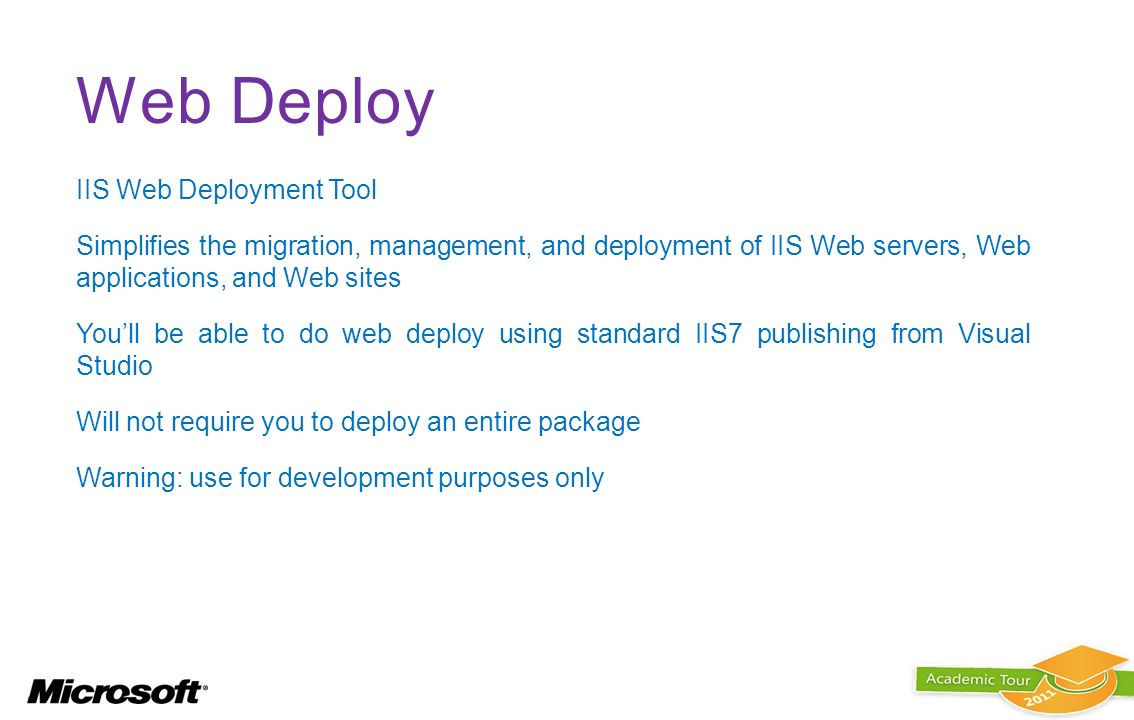 Web Deploy