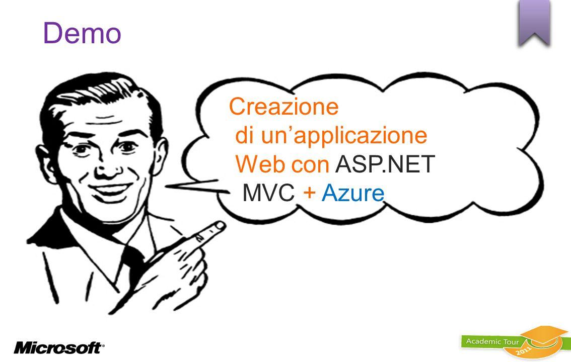 Creazione di un'applicazione Web con ASP.NET MVC + Azure