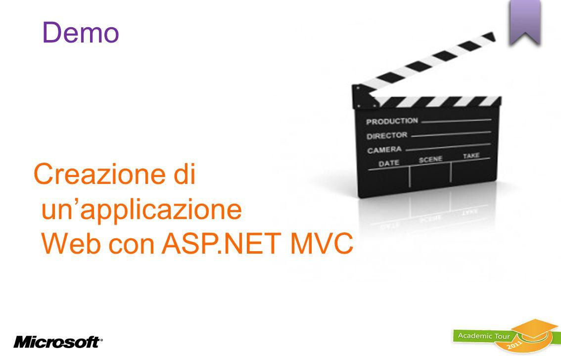 Creazione di un'applicazione Web con ASP.NET MVC