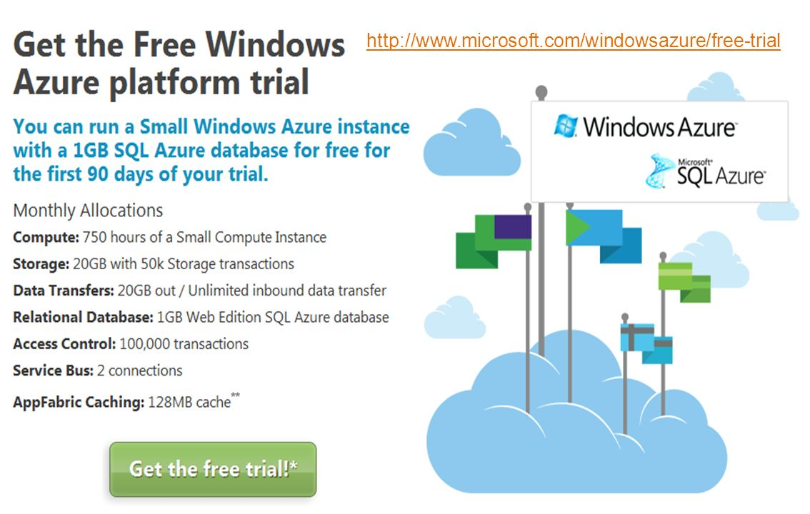 http://www.microsoft.com/windowsazure/free-trial