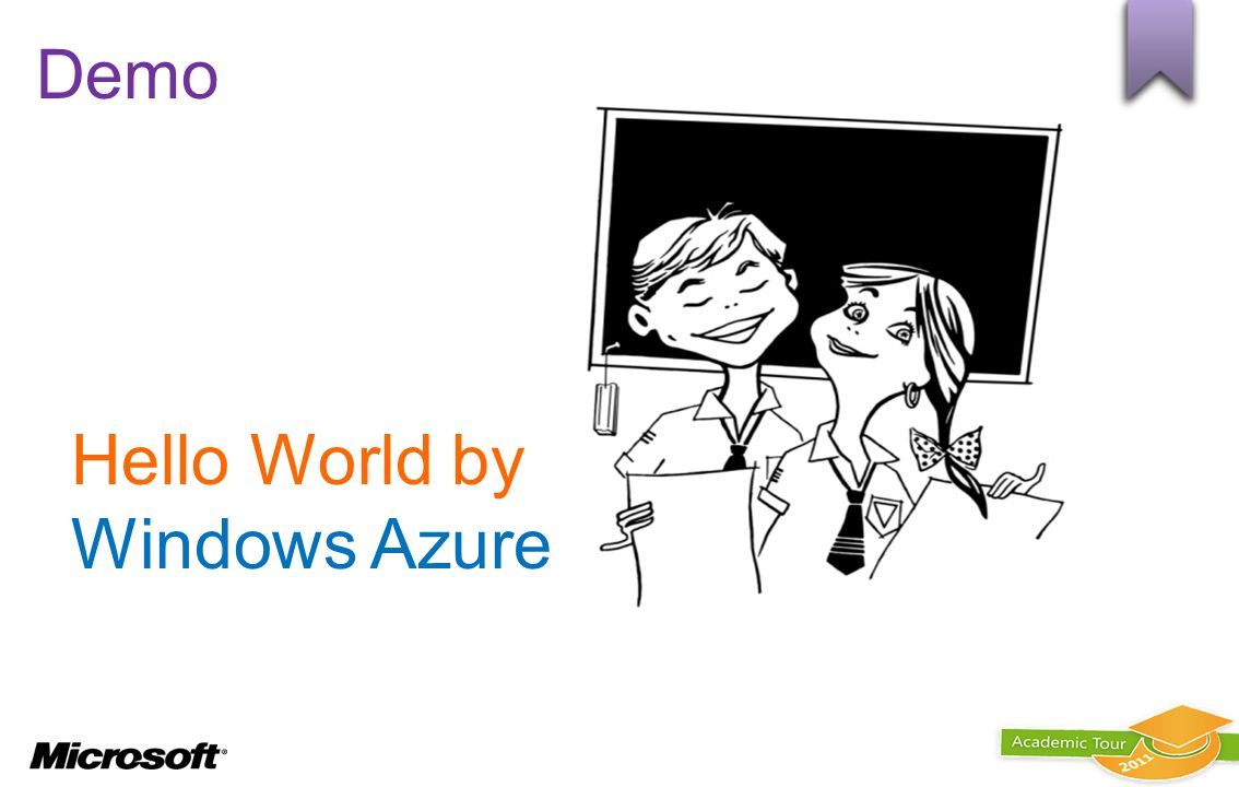 Hello World by Windows Azure