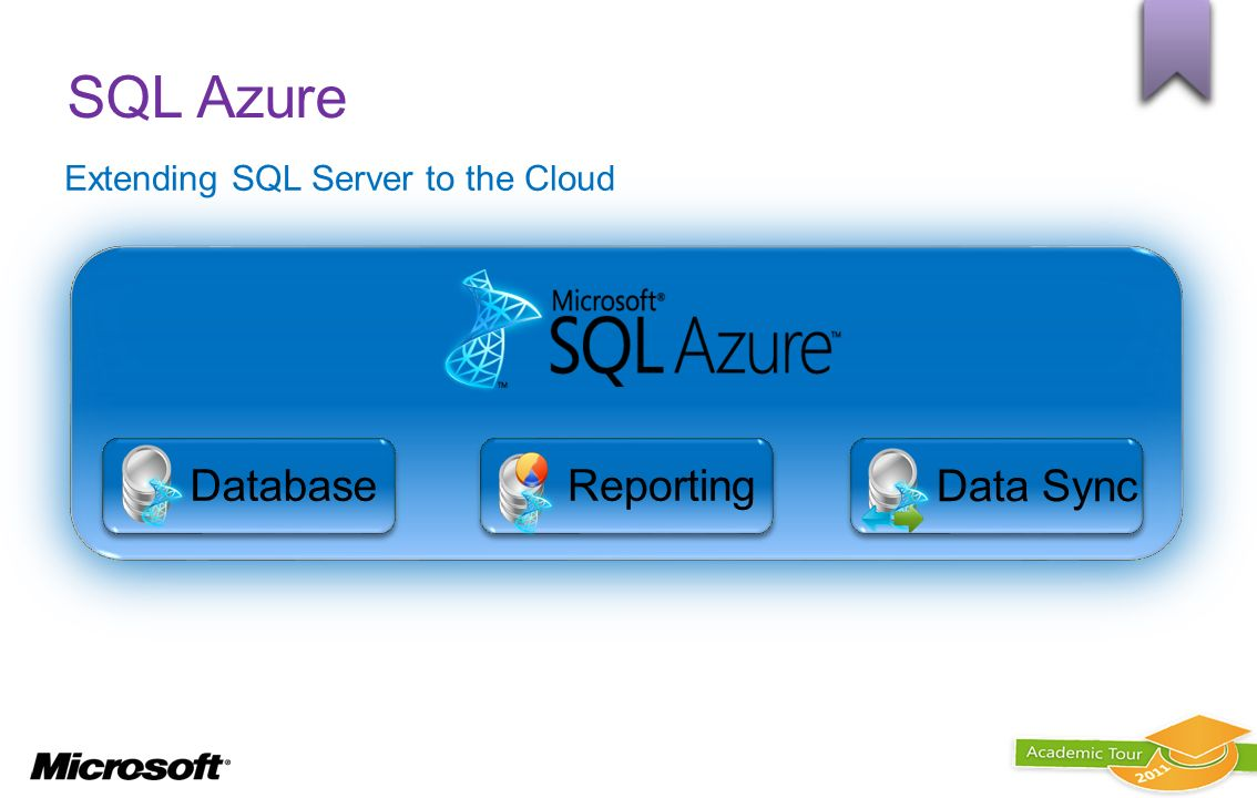 SQL Azure Database Reporting Data Sync