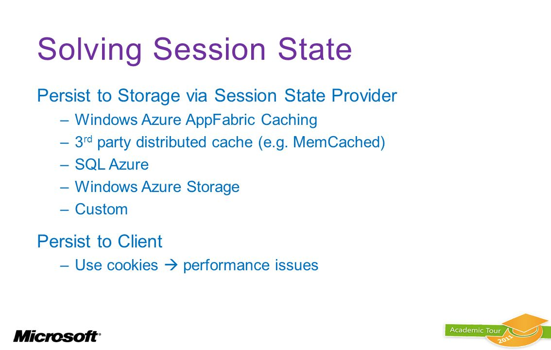 Solving Session State Persist to Storage via Session State Provider