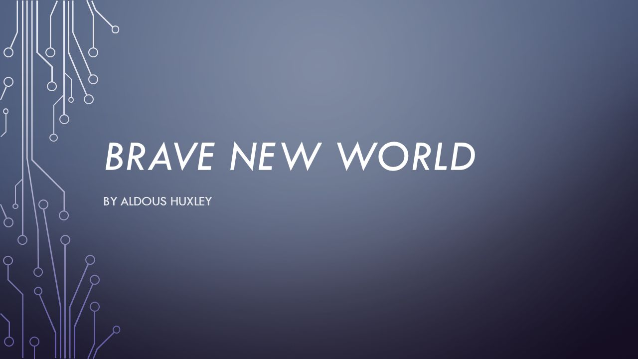 essay on brave new world society The novel brave new world by aldous huxley is a compelling tale of future society, which is controlled by a totalitarian government.