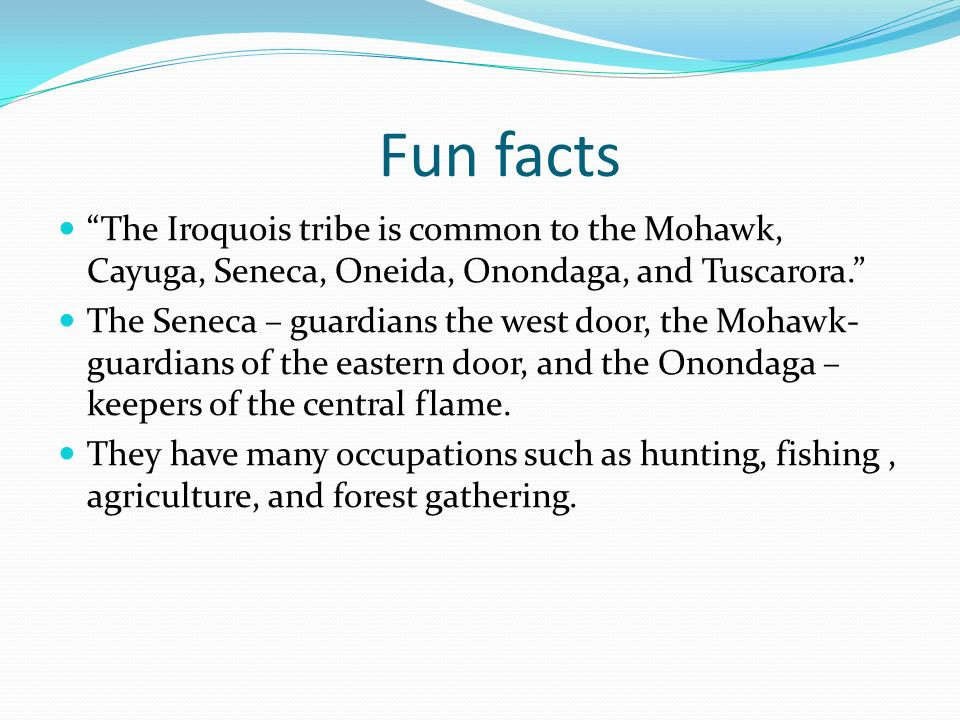 Iroquois Weapons For Hunting