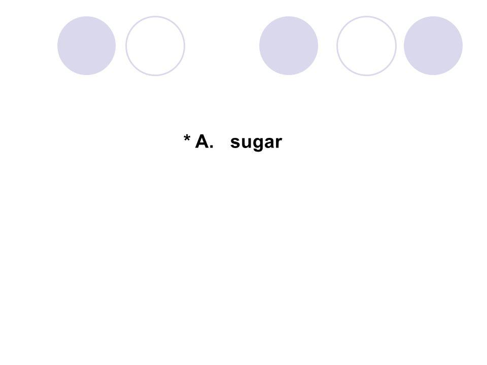 * A. sugar 34