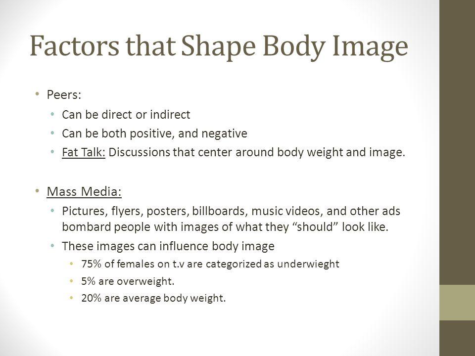Factors that Shape Body Image