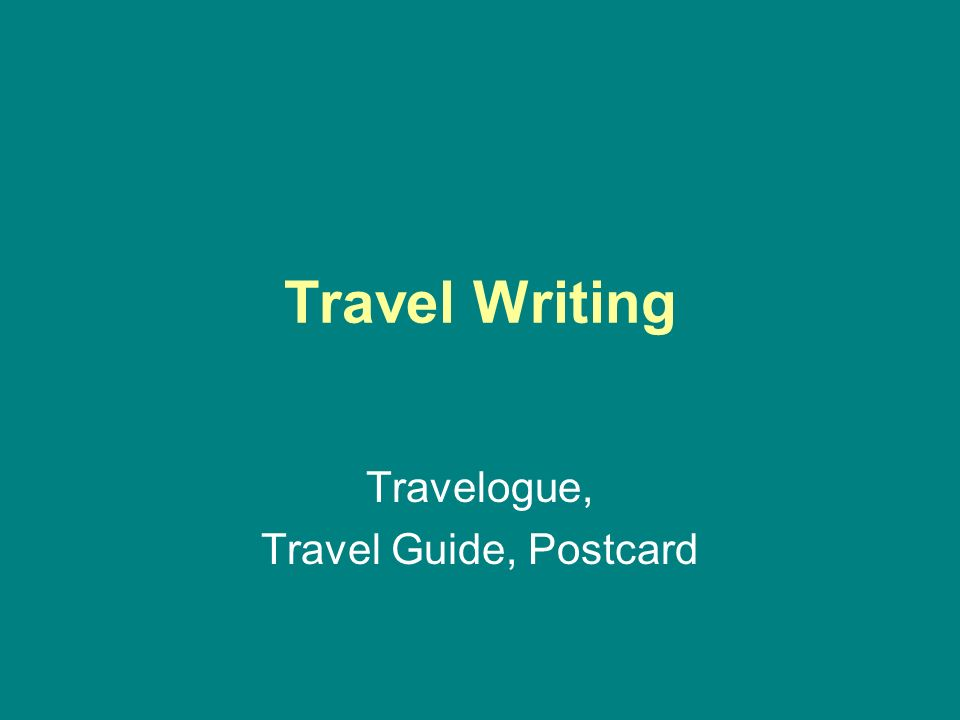 travelogue travel guide postcard ppt video online download