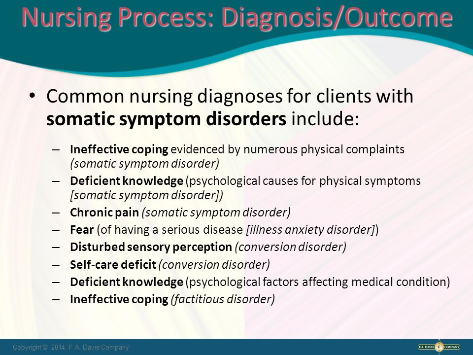 nursing care for dissociative indentity disorder The famous psychiatric condition, dissociative identity disorder (did) also known   it is obviously not possible to test these treatment modalities on a did patient.