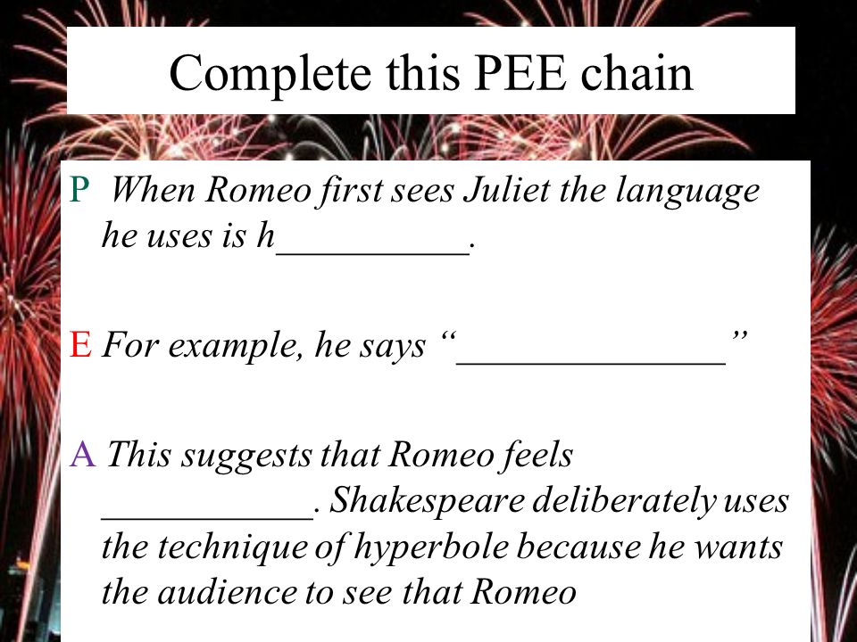 Example Of Hyperbole In Romeo And Juliet Choice Image Example