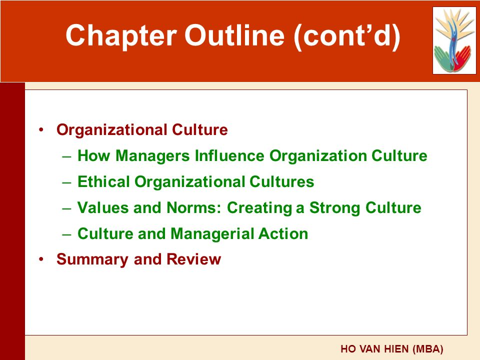 a brief summary of cultural personal and organizational values Hofstede's cultural dimensions of values and personal value the primacy of values in managerial and organizational behavior has a brief summary of hofstede.