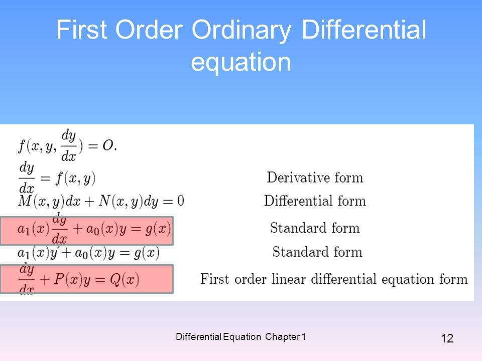 differential equation coursework Ordinary and partial differential equations by john w cain and angela m reynolds when a differential equation involves a single independent variable, we refer.