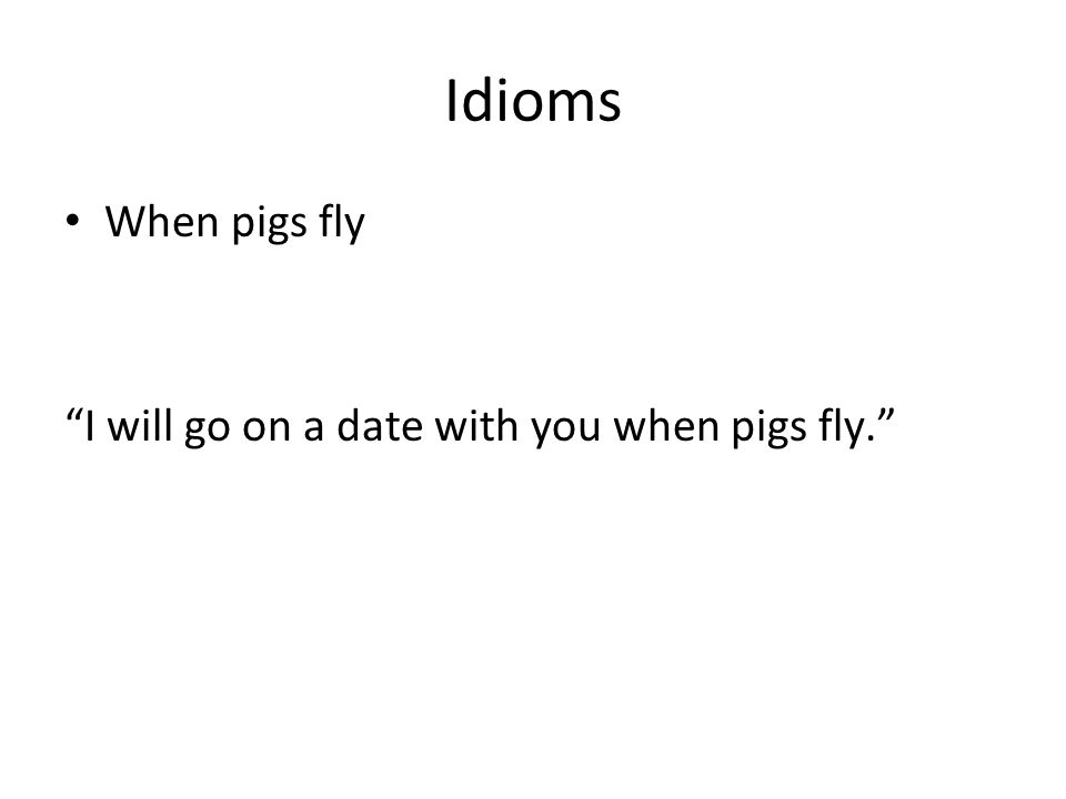 American Idioms Part Two Ppt Download
