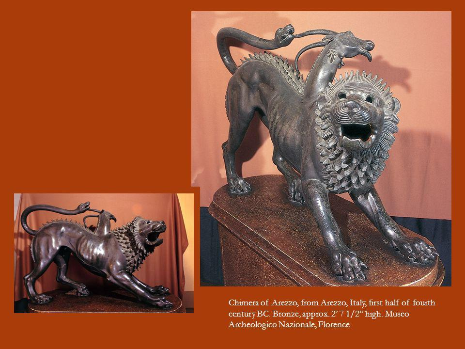 Chimera of Arezzo, from Arezzo, Italy, first half of fourth century BC
