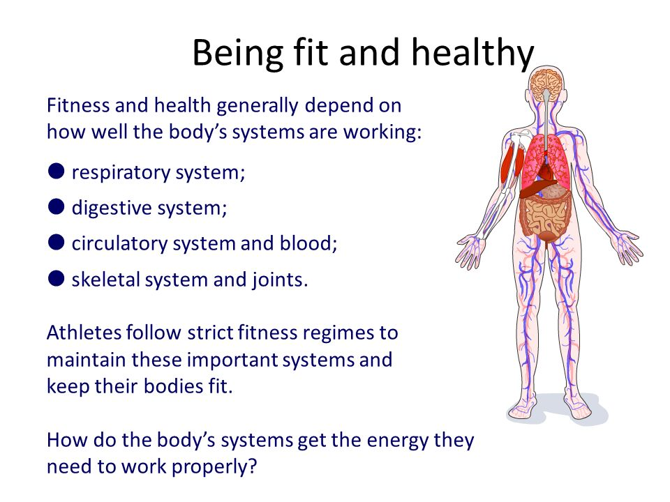 how to make fit and healthy body