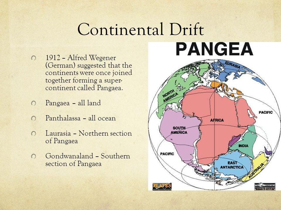 Development of the Theory of PLATE TECTONICS - ppt video online ...