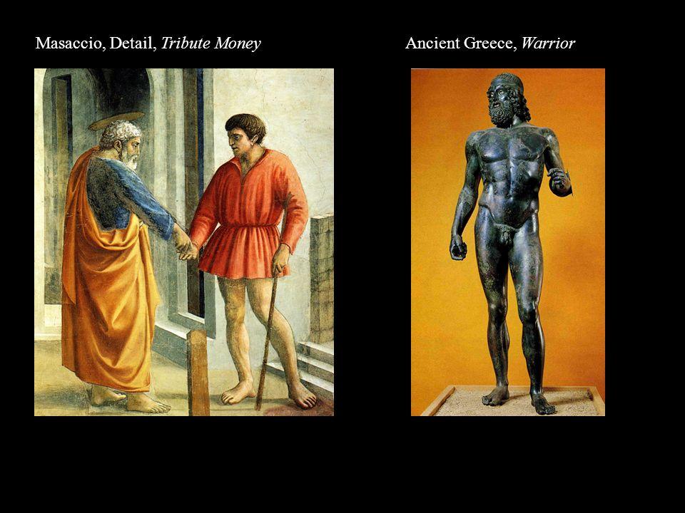 Masaccio, Detail, Tribute Money