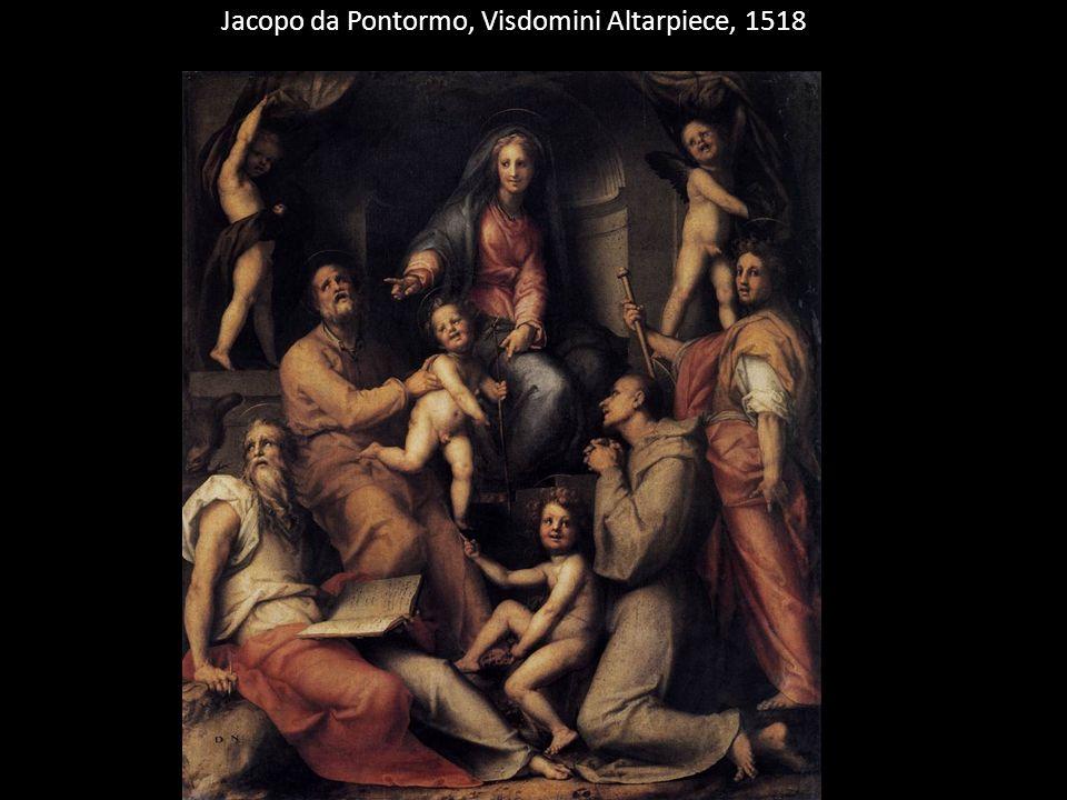 Jacopo da Pontormo, Visdomini Altarpiece, 1518