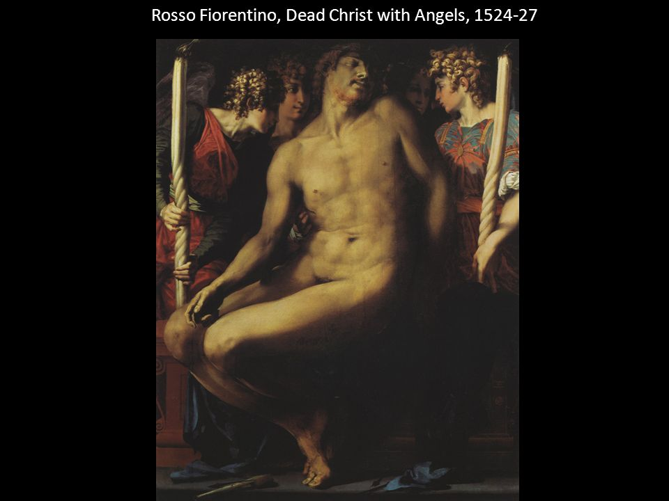 Rosso Fiorentino, Dead Christ with Angels, 1524-27