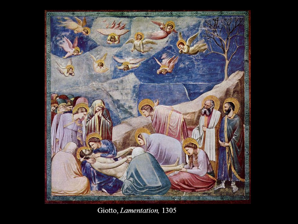 Giotto, Lamentation, 1305