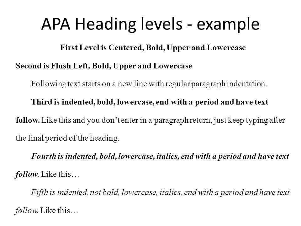 apa header example - Etame.mibawa.co