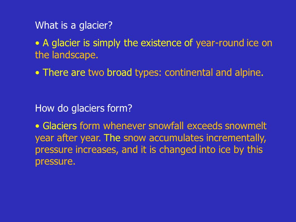 Glacial Processes and Landforms - ppt video online download