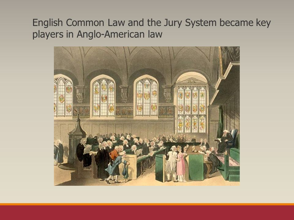 the law and jury system in An introduction to comparative jury systems chicago-kent college of law 1 i will use jury or jury system to include not just traditional juries.