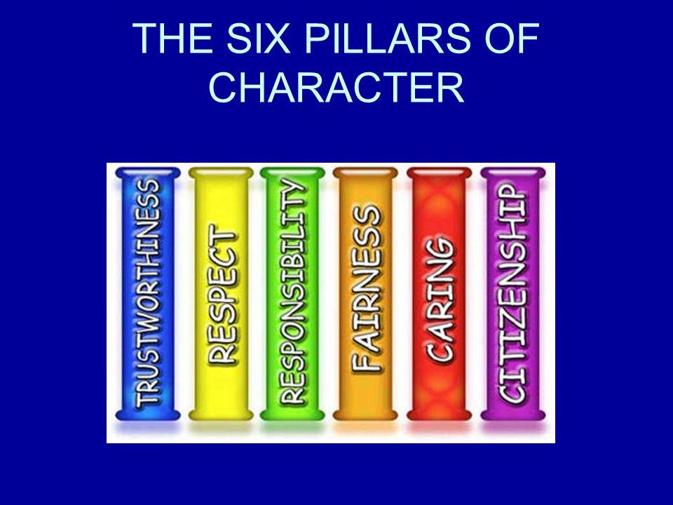 5 pillars of character related keywords 5 pillars of for Six pillars of character coloring pages