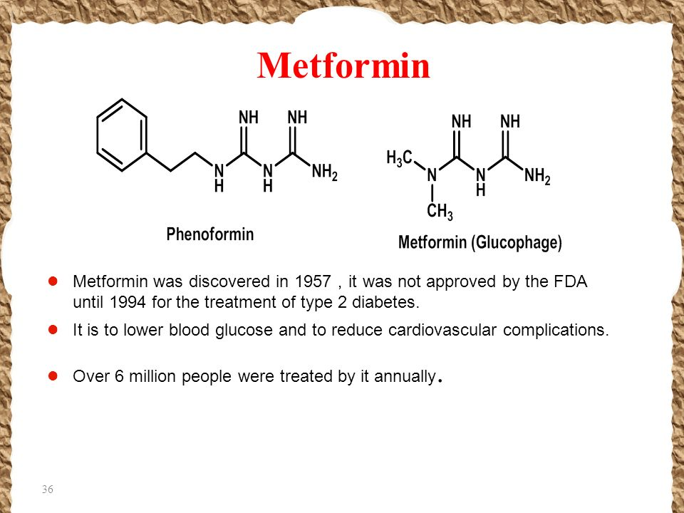 xanomeline structure activity relationship of metformin