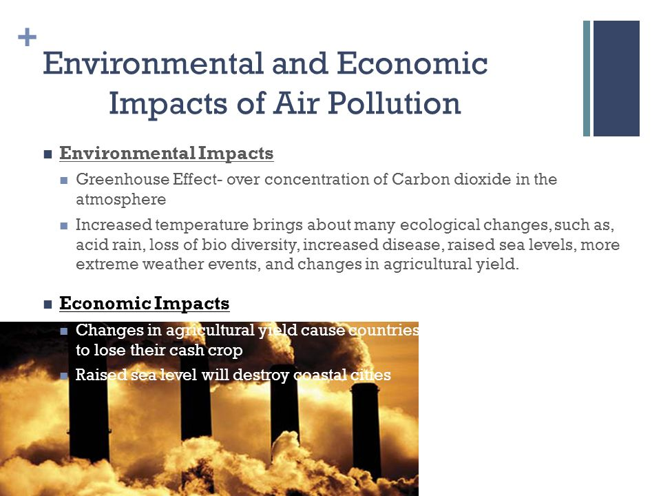 impacts on environmental policies for air pollution Atmospheric environment 40 (2006) 1706-1721 evaluating impacts of air pollution in china on public health: implications for future air pollution and energy policies.
