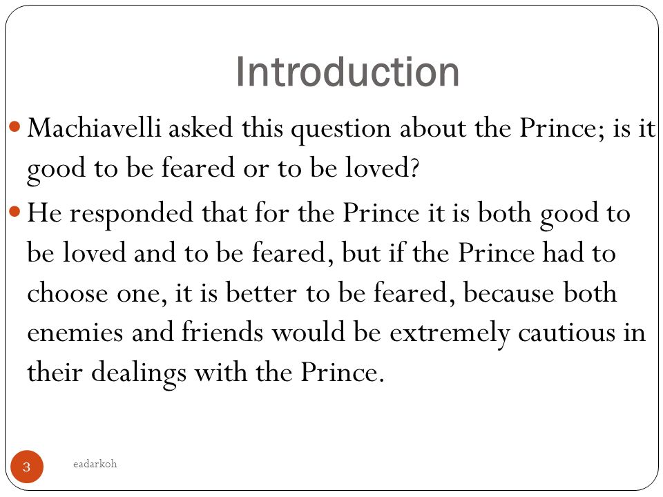 """an introduction to the history of machiavelli Machiavelli: selected political writings   help make this edition an ideal first encounter with machiavelli for any student of history  """"the introduction."""