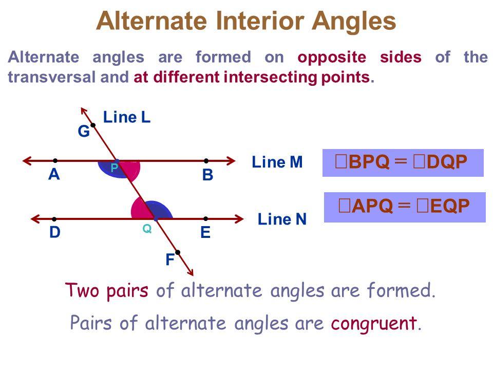 3 3 Parallel Lines Transversals Mr Miller Geometry Ppt Video Online Download