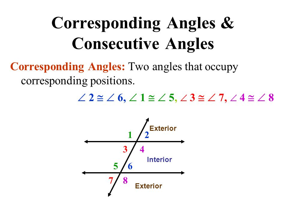 3 3 Parallel Lines Transversals Mr Miller Geometry Ppt Video Online Download