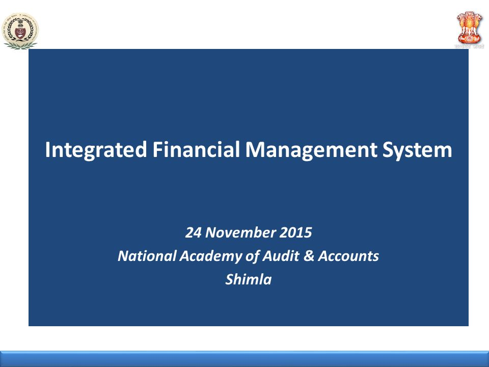 Integrated Financial Management System