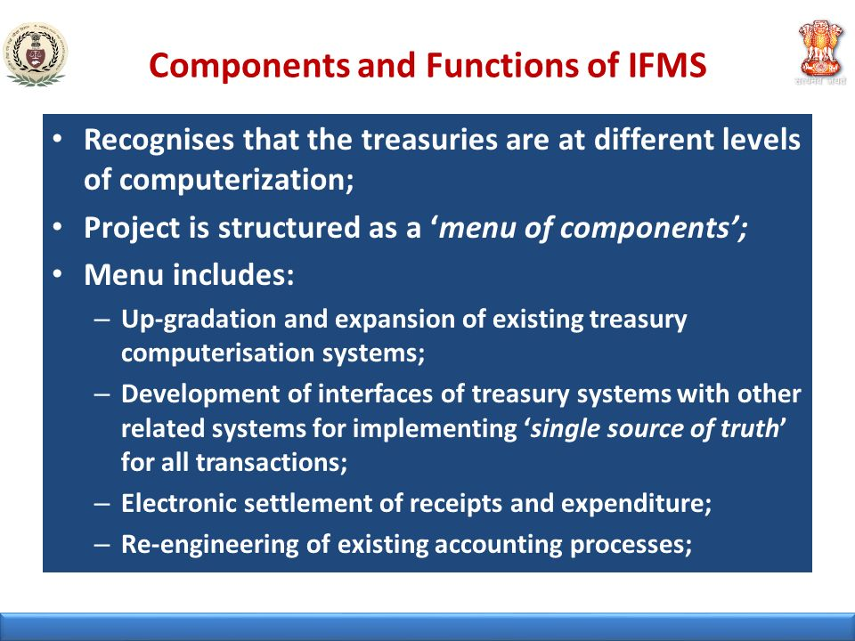 Components and Functions of IFMS