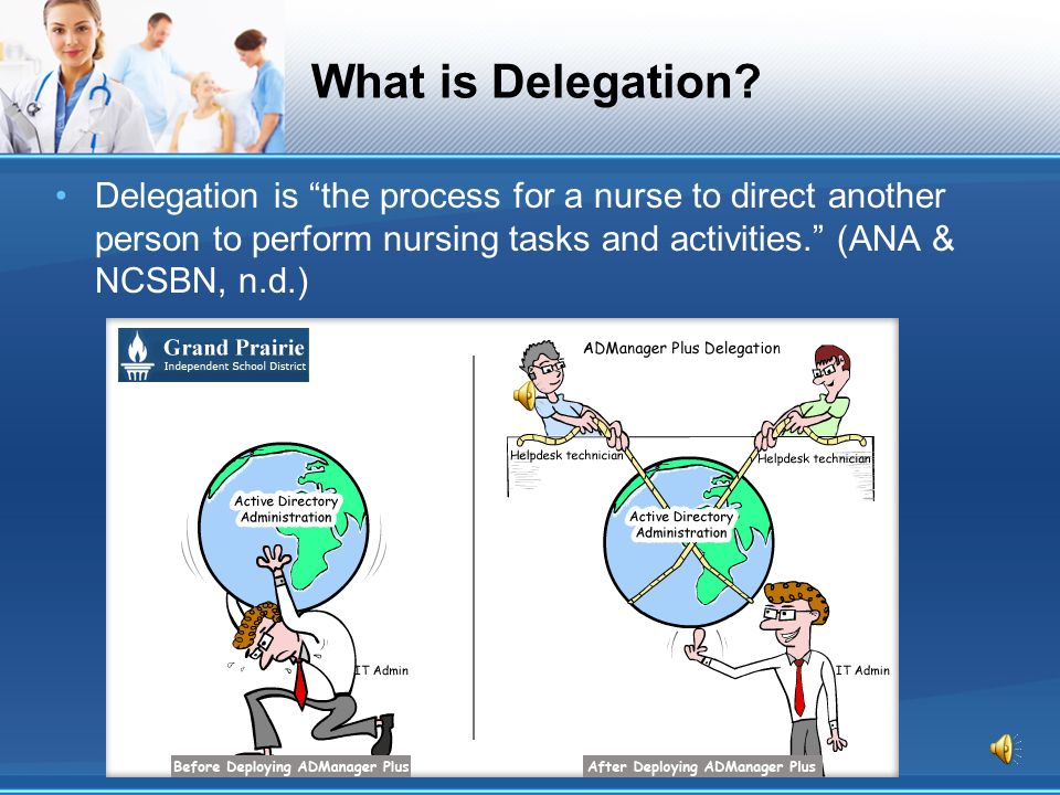 Does delegation help or hurt nursing