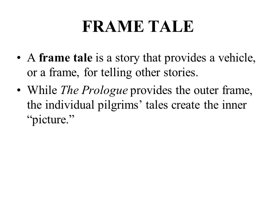 What Is A Frame Tale Frame Design Amp Reviews