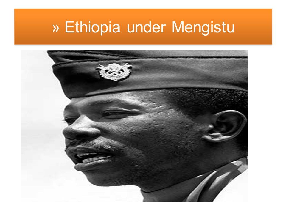 » Ethiopia under Mengistu