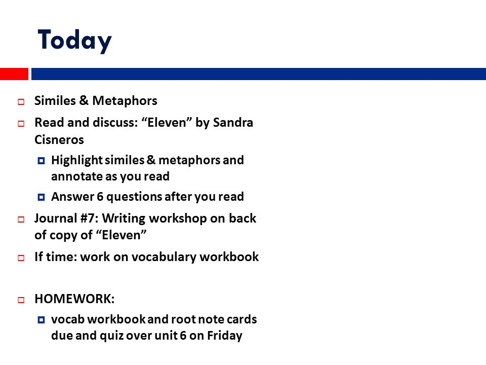 essay writing with eleven by sandra cisnero