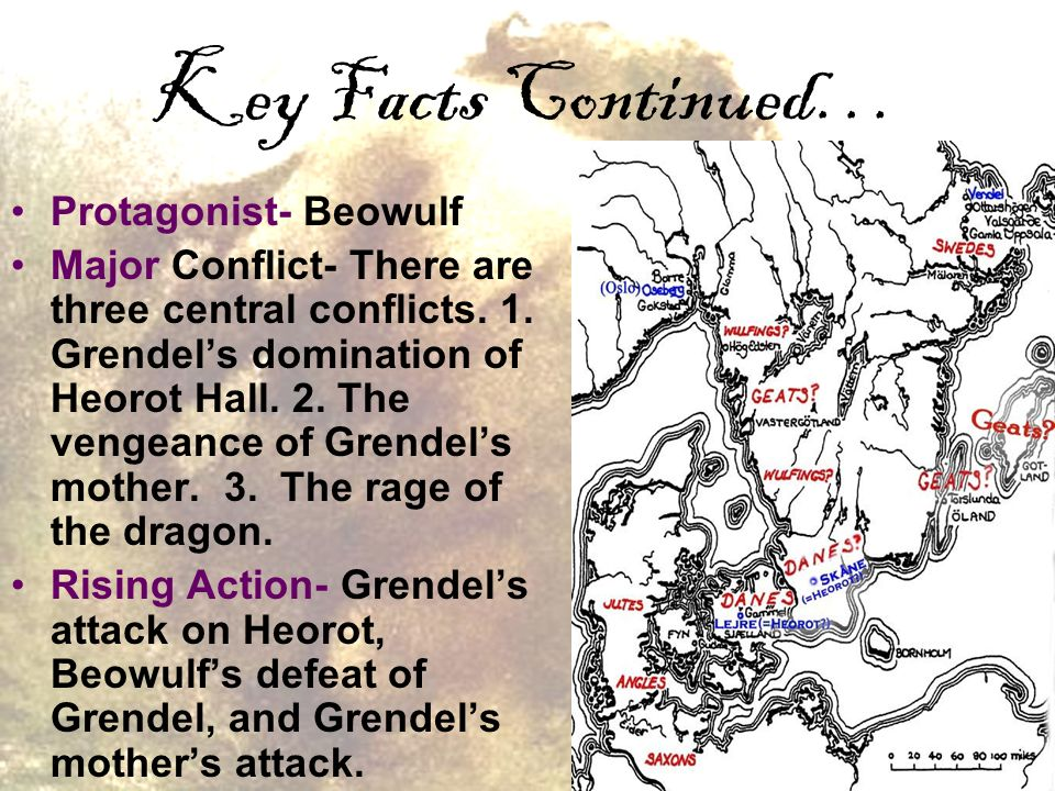 conflict and beowulf The angles, saxons, and jutes invaded england after the romans left in the fifth century the poem beowulf shapes and interprets material connected with the angles, saxons, and jutes.