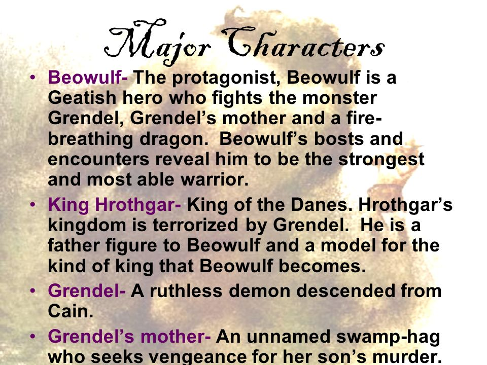 comitatus grendel s mother and beowulf The theme of comitatus (that the king must be protected at all times or avenged if he is killed) is seen constantly throughout beowulf the king's guards sleep in the meadhall while he sleeps in .