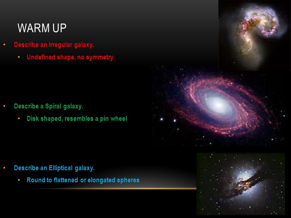 Unit 11 Characteristics of the Universe - ppt download