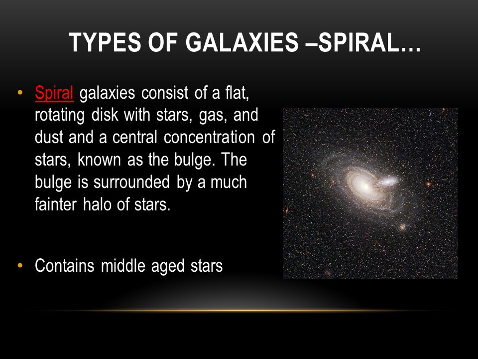 types of galaxies spiral - photo #12