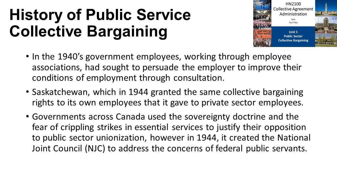 the history of public sector unions As public sector unions contemplate losing key rights under the law, it's worth remembering that for much of their history, such unions organized with no rights at all.
