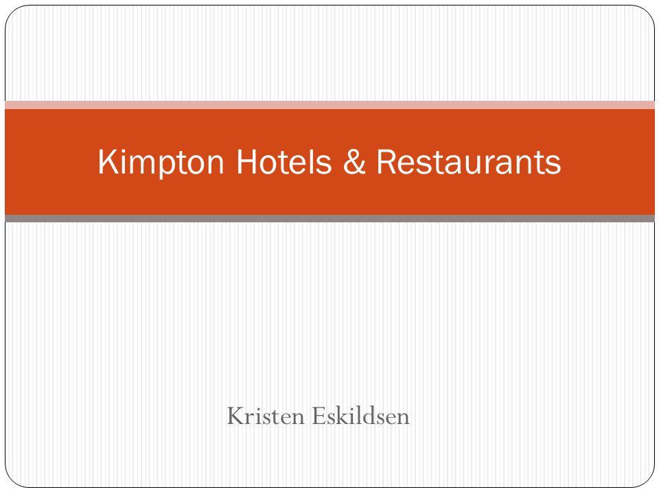 kimpton hotels mission statement