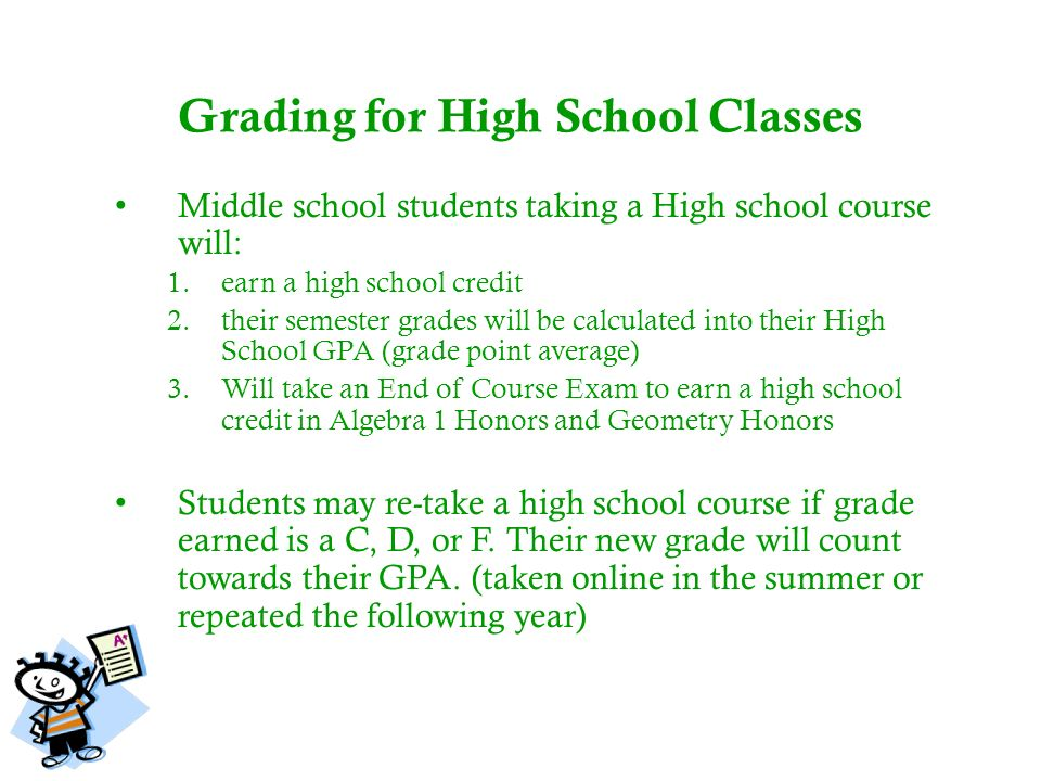 how to take online classes for middle school