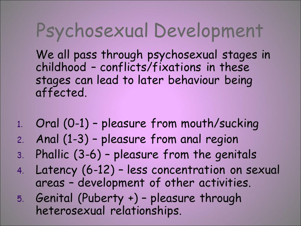 the three stages of sexuality by freud definition