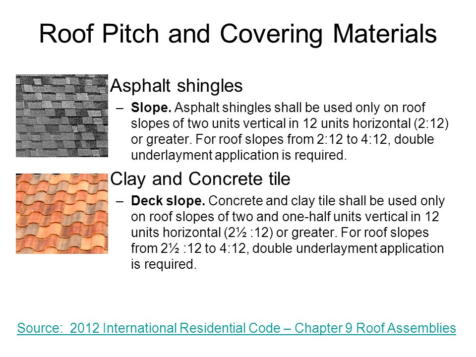Residential roof types ppt download for Roof covering materials