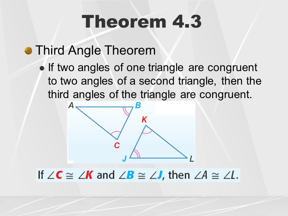 Lesson 4 – 3 Congruent Triangles - ppt video online download