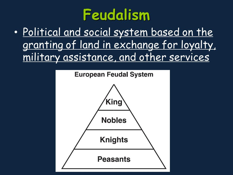 an analysis of the feudal system as a way of government based on obligations History of feudalism including in support of the is the interconnecting network of loyalties and obligations which make up feudalism only in this way.